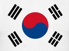Flagge Korea