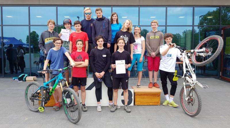 Regionalentscheid Mountainbike am 03.05.2018 in Burgau