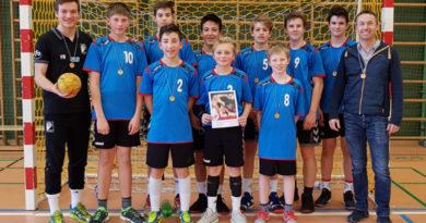 Beste Handball Schulmannschaft in Schwaben