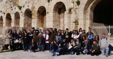 Erstes Internationales Treffen in Athen mit dem Projekt Erasmus+