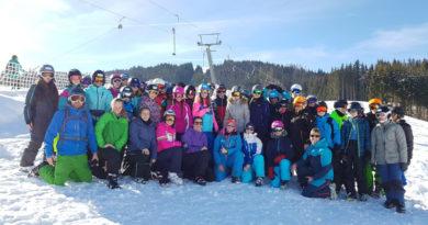 Erst viel Schnee, dann viel Sonne – so schön kann ein Skilager sein!