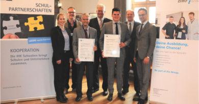 IHK-Schulpartnerschaft zwischen der BWF-Group und dem DGG