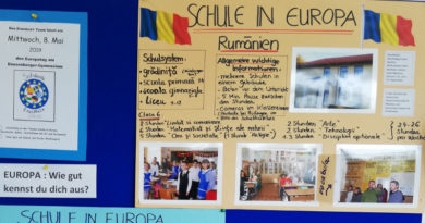 Europatag am Dossenberger-Gymnasium