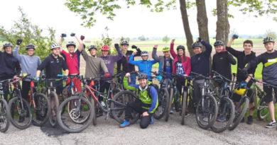 Der Regionalentscheid Mountainbike fest in Dossenberger Hand
