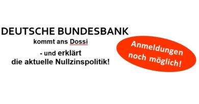 Deutsche Bundesbank kommt ans Dossi