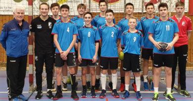 Bezirksfinale Handball Jungen II