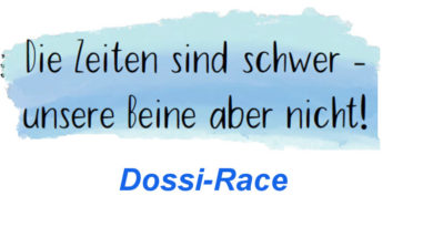 Endspurt beim Dossi Race Across Germany