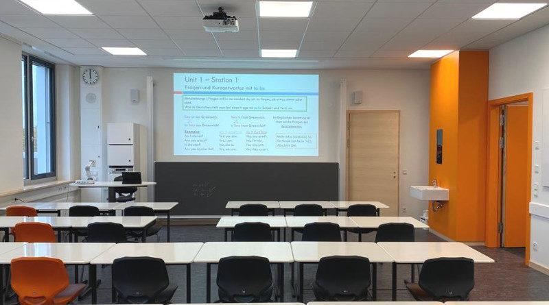 Neue Klassenzimmer für die Oberstufe
