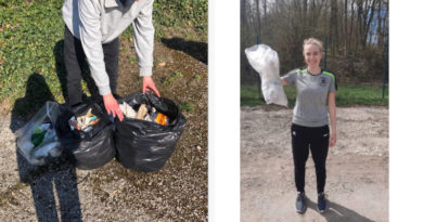 Biologisch-chemisches Praktikum + Lockdown + Umweltschule = Müllsammeln!