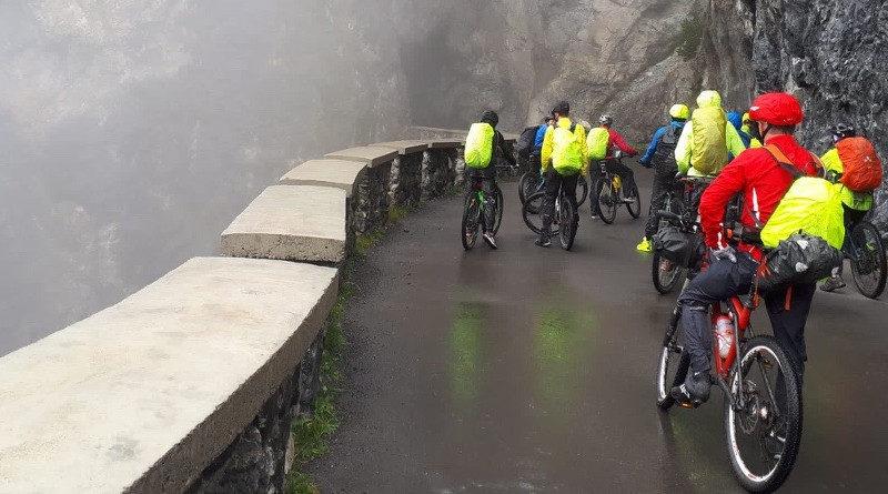Vierte Etappe vom Rifugio di Fraele nach Santa Caterina (Valfurva)