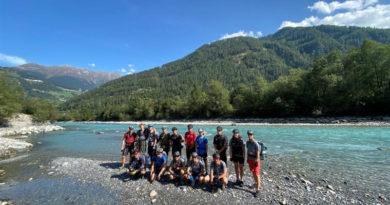 Einladung zur Abschlusspräsentation unseres Alpencross